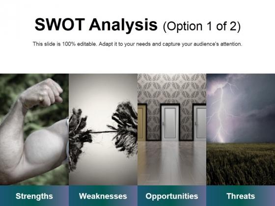 Swot Analysis Template 1 Ppt PowerPoint Presentation Ideas Template
