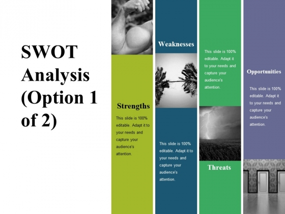 Swot Analysis Template 1 Ppt PowerPoint Presentation Layouts Slides