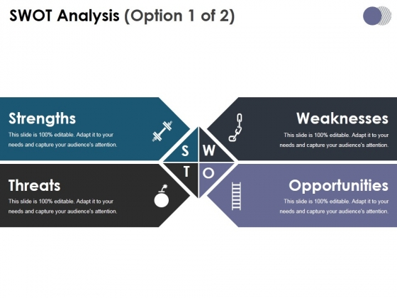 Swot Analysis Template 1 Ppt PowerPoint Presentation Model Outline