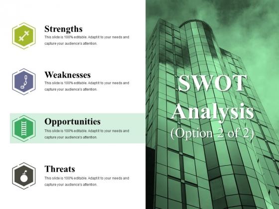 Swot Analysis Template 2 Ppt PowerPoint Presentation Portfolio Gallery