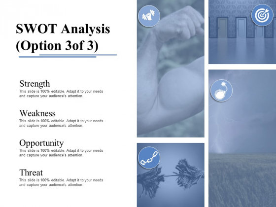 Swot Analysis Template 2 Ppt PowerPoint Presentation Portfolio Sample
