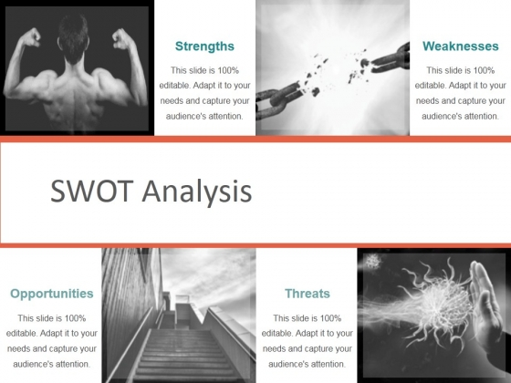 Swot Analysis Template 2 Ppt PowerPoint Presentation Visual Aids