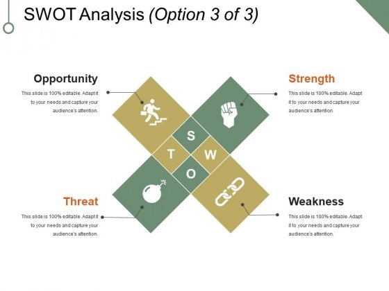 Swot Analysis Template 3 Ppt PowerPoint Presentation Inspiration Templates