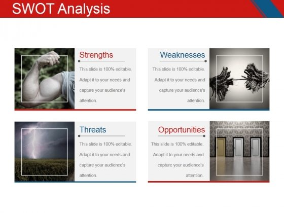 swot analysis template 3 ppt powerpoint presentation show design