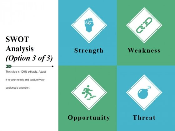 Swot Analysis Template 3 Ppt PowerPoint Presentation Summary Infographic Template