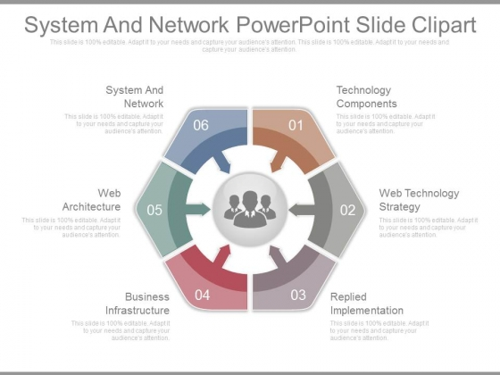 System And Network Powerpoint Slide Clipart