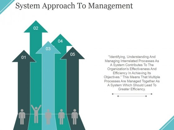 System Approach To Management Ppt PowerPoint Presentation Infographic Template Mockup