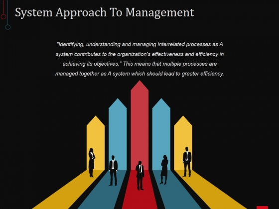 System Approach To Management Ppt PowerPoint Presentation Styles Files