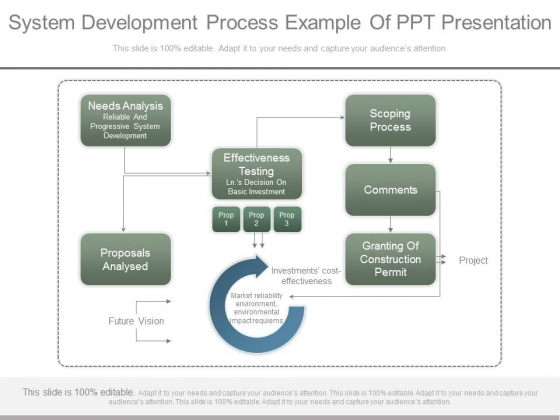 System Development Process Example Of Ppt Presentation