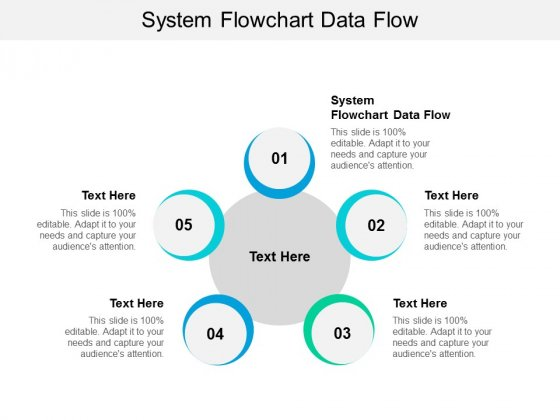 System Flowchart Data Flow Ppt PowerPoint Presentation Ideas Inspiration Cpb