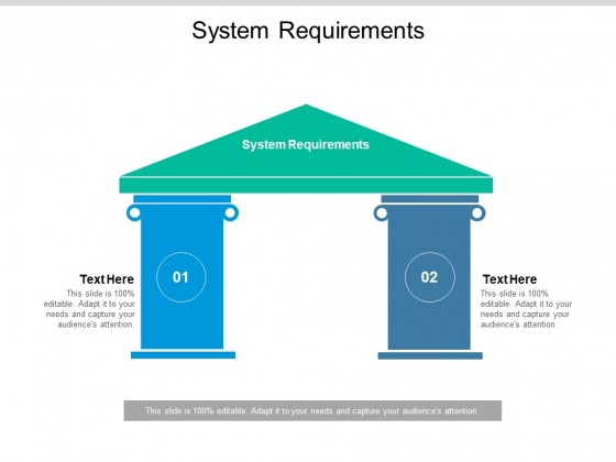 System Requirements Ppt PowerPoint Presentation Slides Background Cpb