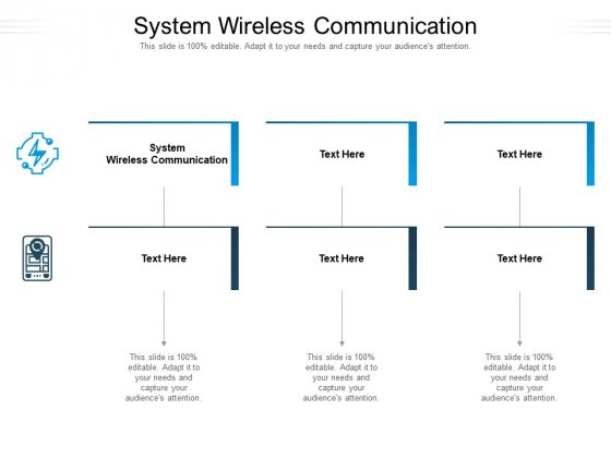 System Wireless Communication Ppt PowerPoint Presentation Icon Deck Cpb Pdf