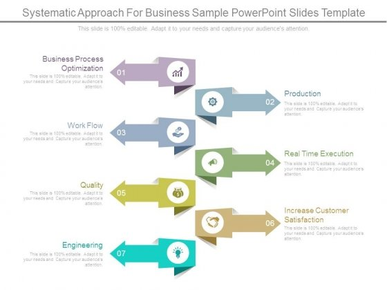 systematic approach for business sample powerpoint slides template