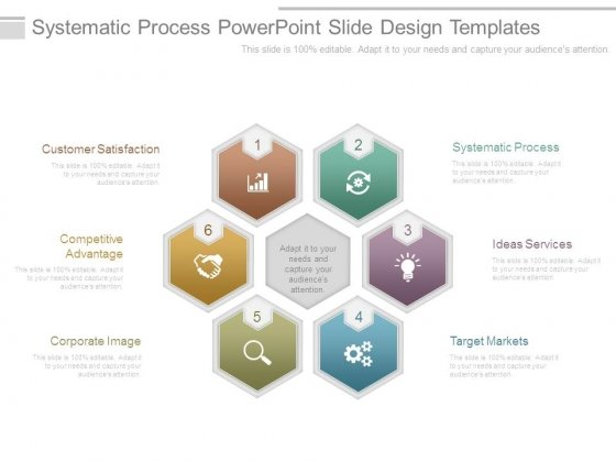 Systematic Process Powerpoint Slide Design Templates