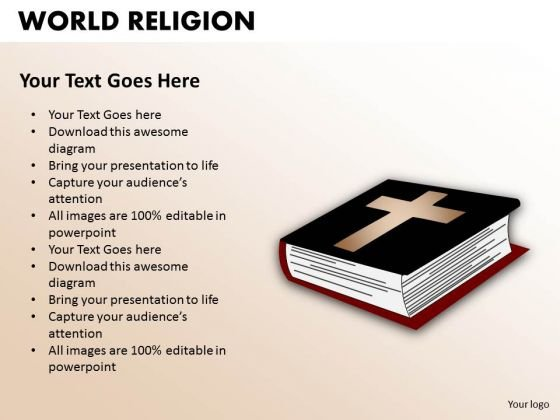 Sacred Book Bible PowerPoint Slides And Ppt Diagram Templates