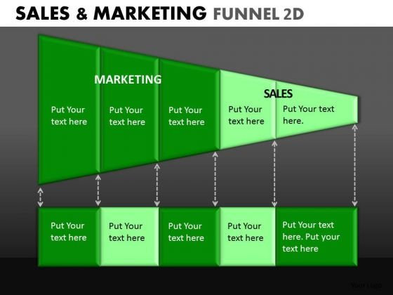 Sales Marketing Conversion Funnels PowerPoint Slides Ppt Templates