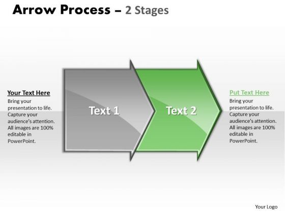 ... Communication Skills PowerPoint 3 Design.  Sales_ppt_background_arrow_process_2_stages_communication_skills_powerpoint_3_design_1