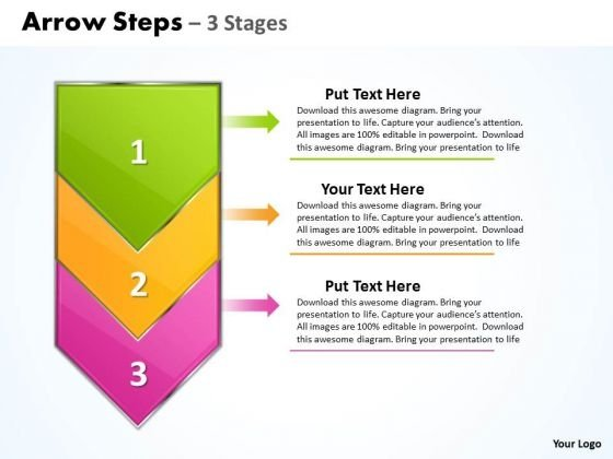 Sales Ppt Template Arrow 3 Phase Diagram 1 Time Management PowerPoint Design