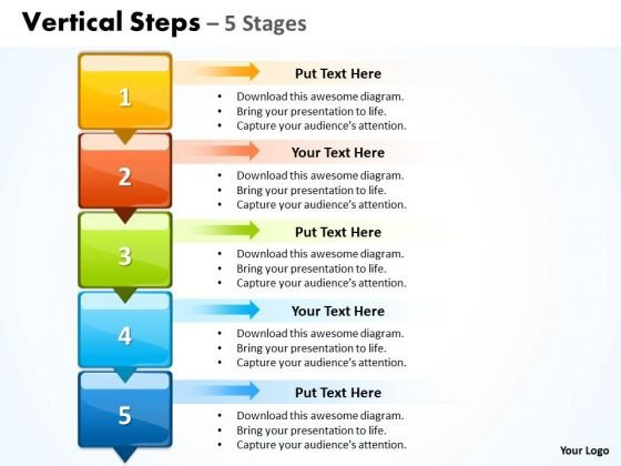 Sales Ppt Template Vertical Steps 5 Business Plan PowerPoint 1 ...