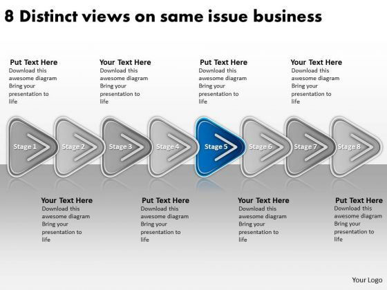Same Issue Business PowerPoint Presentation Short Plan Template Templates