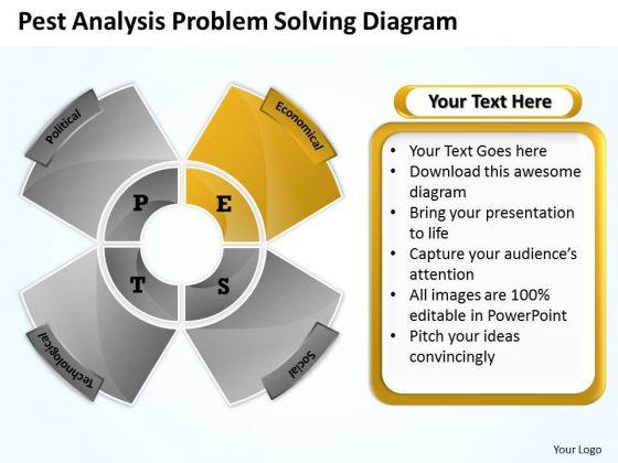 Sample Business PowerPoint Presentations Analysis Problem Solving Diagram Slides