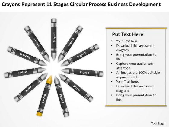 Sample Business PowerPoint Presentations Process Development Ppt Slide