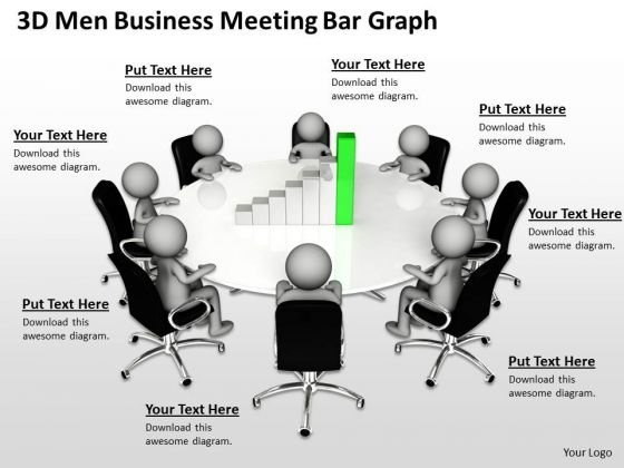Sample Business Process Flow Diagram Bar Graph PowerPoint Templates Ppt Backgrounds For Slides