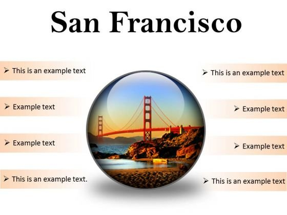 San Francisco Beach PowerPoint Presentation Slides C