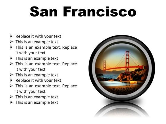 San Francisco Beach PowerPoint Presentation Slides Cc