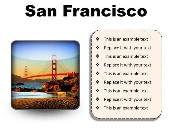 San Francisco Beach PowerPoint Presentation Slides S