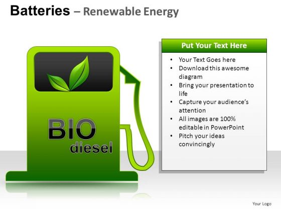 Saving Batteries Renewable Energy PowerPoint Slides And Ppt Diagram Templates
