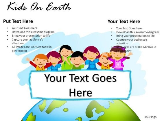 Science Kids On Earth PowerPoint Slides And Ppt Diagram Templates