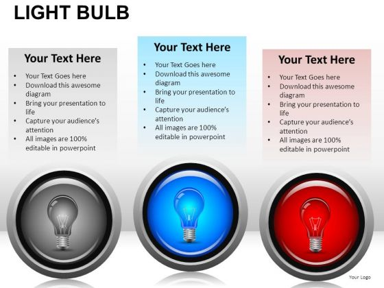 Science Light Bulb PowerPoint Slides And Ppt Diagram Templates