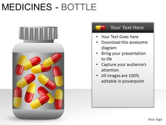 Science Medical Bottle PowerPoint Slides And Ppt Diagram Templates