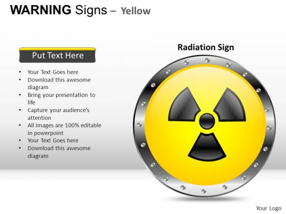 Science Warning Signs PowerPoint Slides And Ppt Diagram Templates