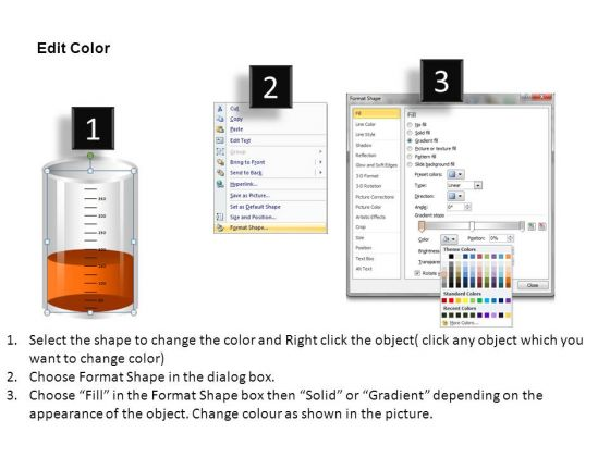 Scientific Measuring Beakers PowerPoint Slides And Ppt Diagram ...