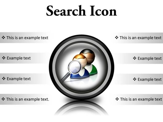 Search Icon Business PowerPoint Presentation Slides Cc