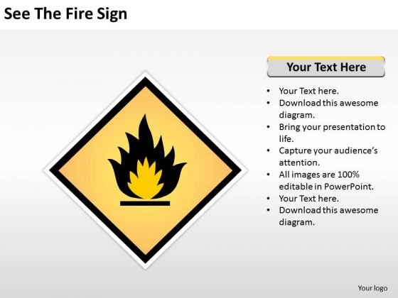 See The Fire Sign Ppt Business Continuity Plan Sample PowerPoint Slides