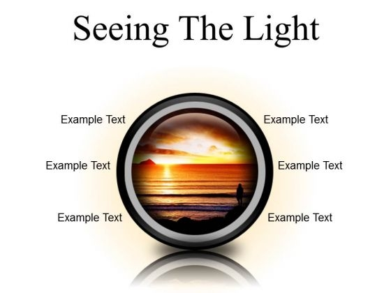 Seeing The Light Nature PowerPoint Presentation Slides Cc