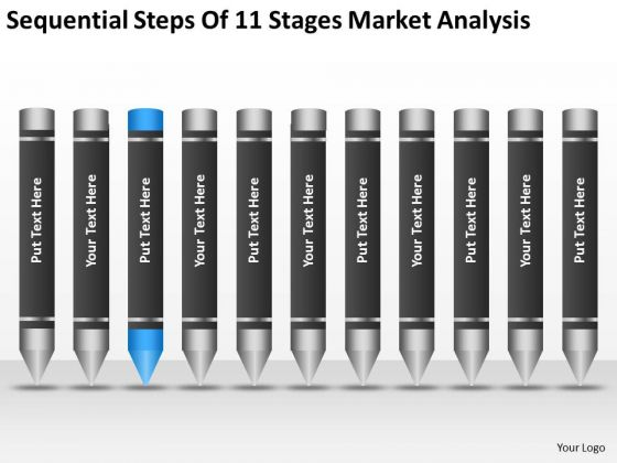 Sequential Steps Of 11 Stages Market Analysis Ppt Score Business Plan PowerPoint Templates