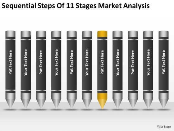 Sequential Steps Of 11 Stages Market Analysis Ppt Starting Small Business PowerPoint Templates