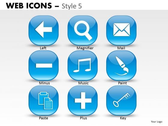 Series Web Icons PowerPoint Slides And Ppt Diagram Templates