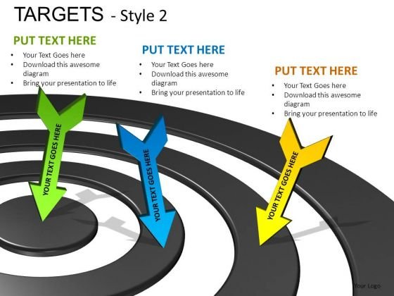 Services Targets 2 PowerPoint Slides And Ppt Diagram Templates