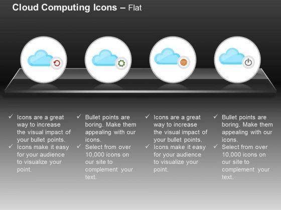 Settings Power Global Cloud Computing Ppt Slides Graphics