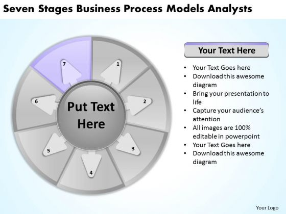 Seven Stages Business Process Models Analysts Need Plan PowerPoint Slides