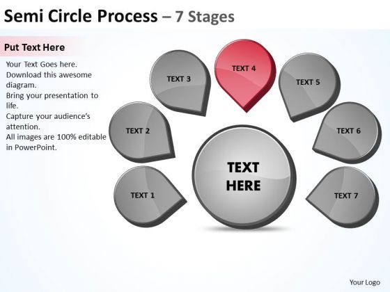Seven Steps Business PowerPoint Templates Download Strategy Ppt Venn Diagram Slides