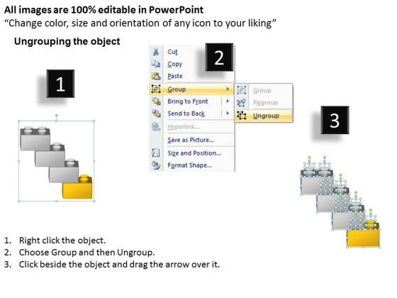 Shape To Show Process Flow 4 Stages Ppt Professional Business Plan – Professional Business Plan