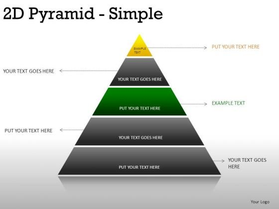 Shapes 2d Pyramid Simple PowerPoint Slides And Ppt Diagram Templates