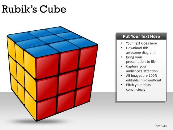 Show Solved Problems With Rubiks Cubes PowerPoint Slides And Ppt Diagram Templates