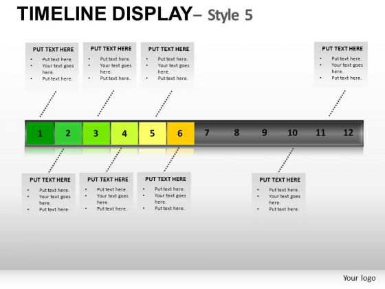 Show Timelines With Editable PowerPoint Slides And Ppt Diagram Templates